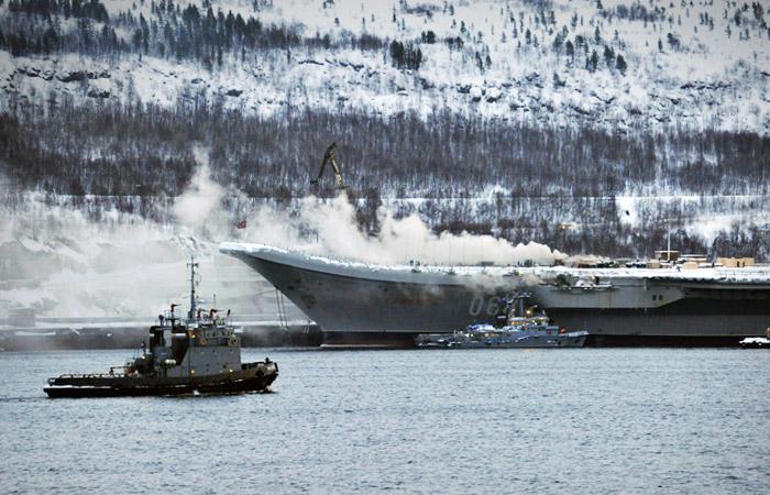 Адмирал Кузнецов, пожар, крейсер