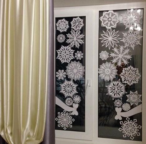 Сніжинки своїми руками / Instagram