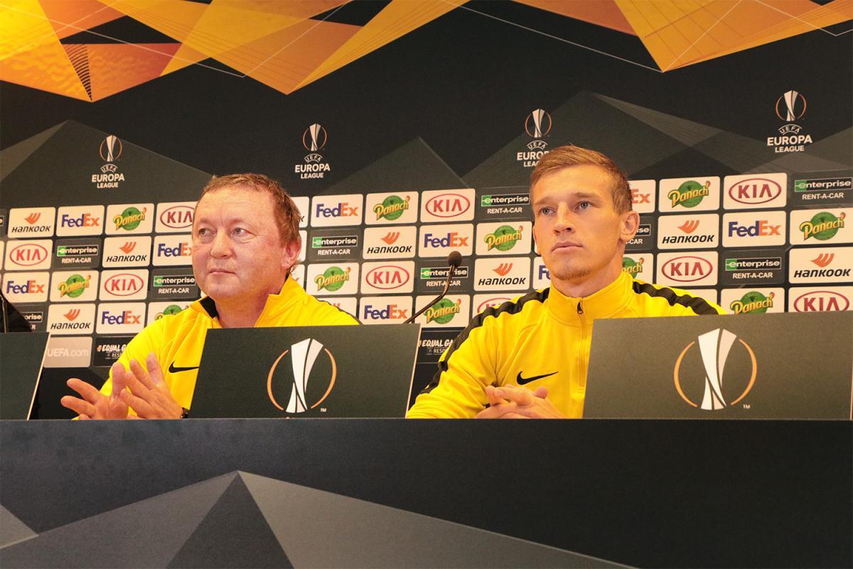 Владимир Шаран и Валерий Лучкевич