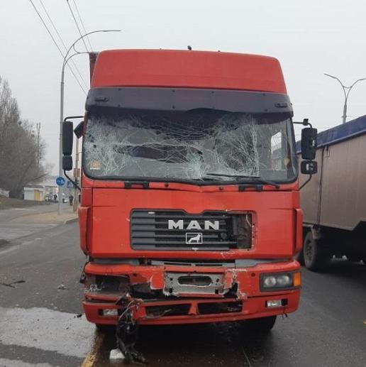 Количество пострадавших в результате столкновения фуры и маршрутки превысило 10 человек - Новости Киева