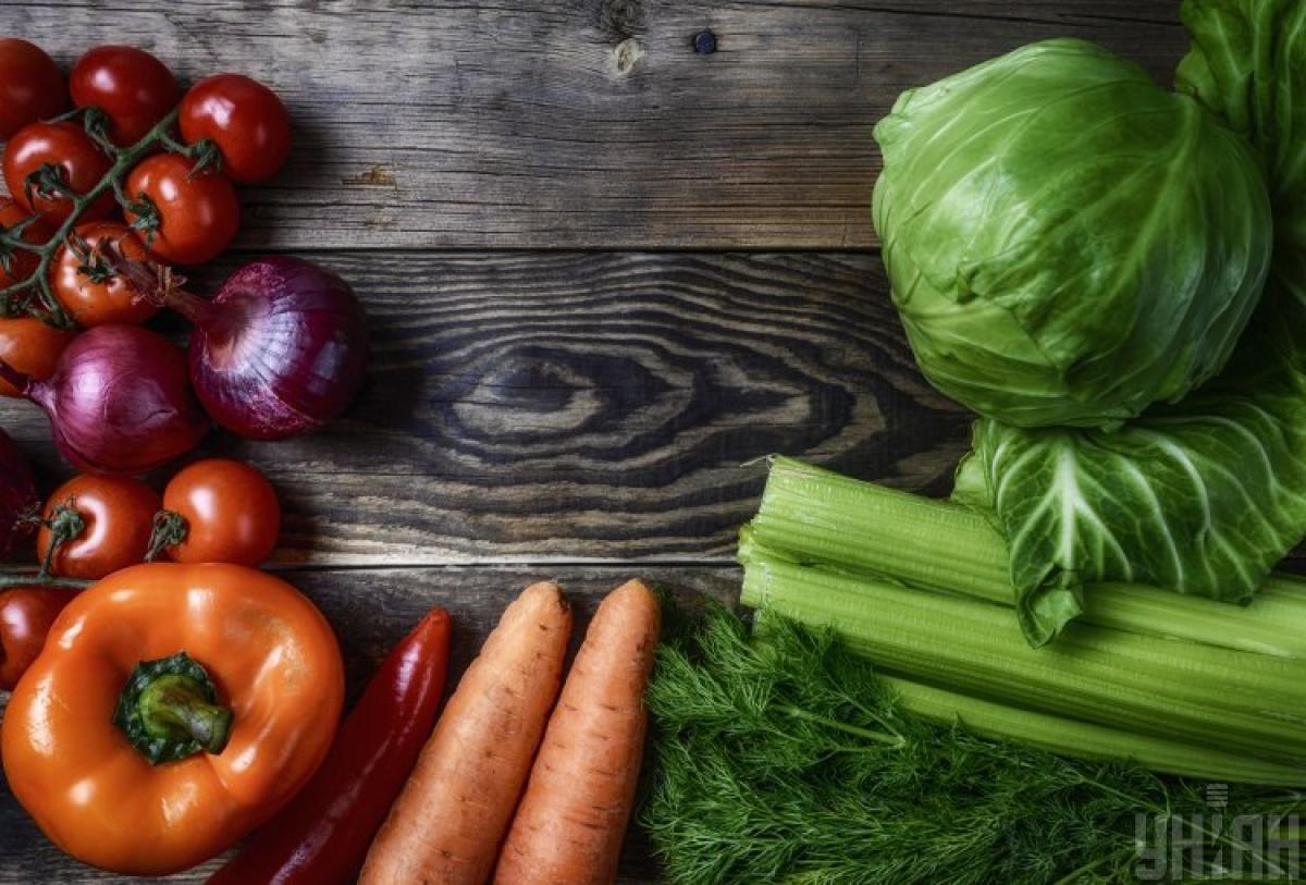 овочі, капуста, морква