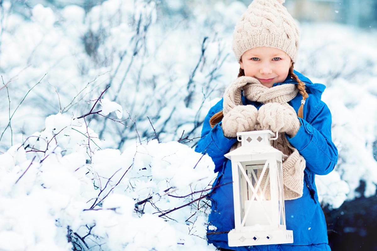 ребенок_зима_природа