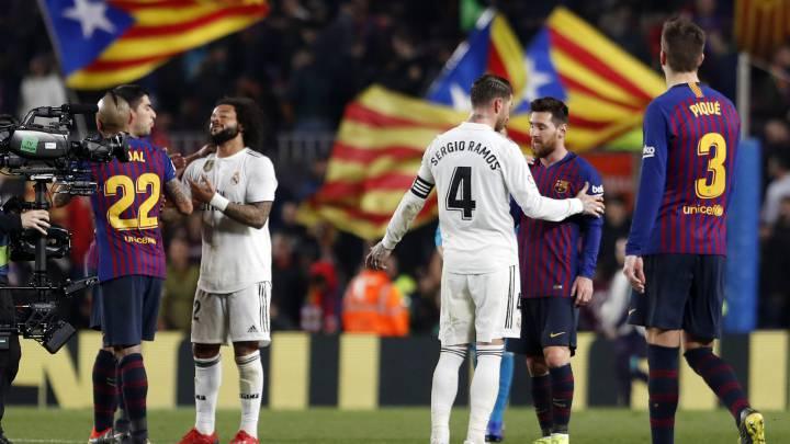 Барселона реал мадрид 26 октября где смотреть