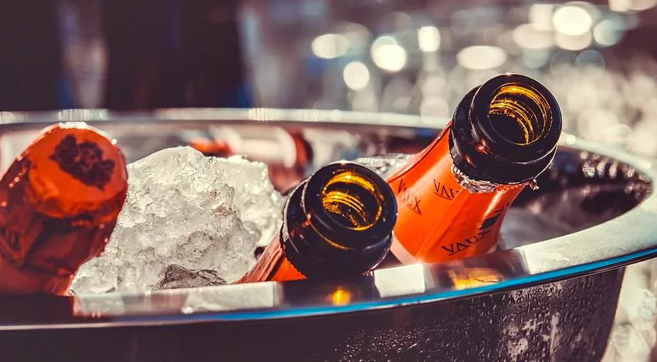 шампанське, алкоголь, новий рік