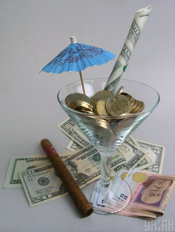 Гривни, доллары