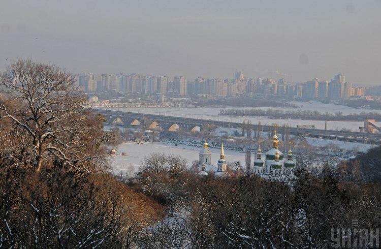 Київ,зима