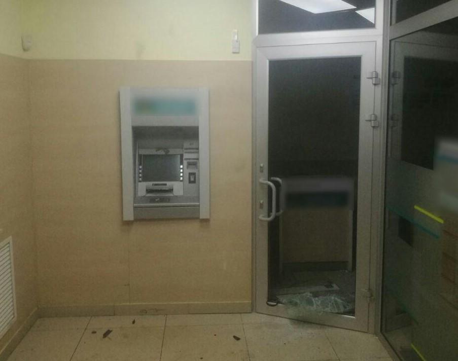 Подрыв банкомата в Харькове