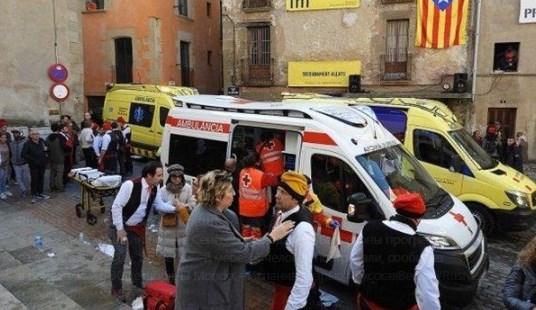В Испании произошел жуткий взрыв в церкви