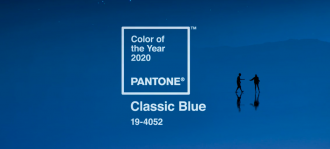 pantone синий цвет