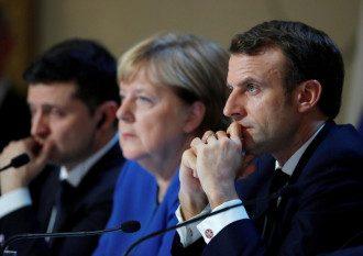 Зеленський, Меркель і Макрон поговорять без Путіна