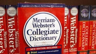 словарь Merriam-Webster