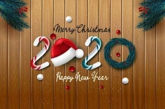 З прийдешнім Новим роком 2020 – відкритки та поздоровлення з наступаючим Новим роком