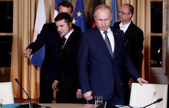 Зеленский хочет перегововрос с Путиным
