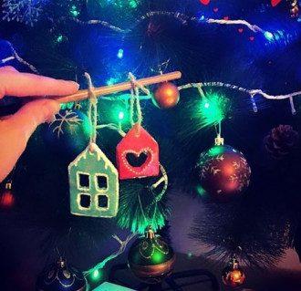 Зробити новорічні прикраси своїми руками дуже легко / Instagram
