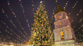 Свято наближається: на главной елке страны зажгли огни