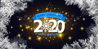 С Новым годом 2020 – короткие смешные и мудрые поздравления с Новым годом в прозе, стихи и открытки