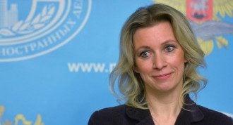 Захарова відповіла на звинувачення щодо фейків РФ