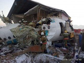 Второй пилот борта Fokker-100, который потерпел крушение, внезапно скончался - Fokker-100 крушение