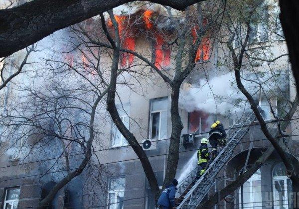 Количество жертв пожара в Одессе снова возросло