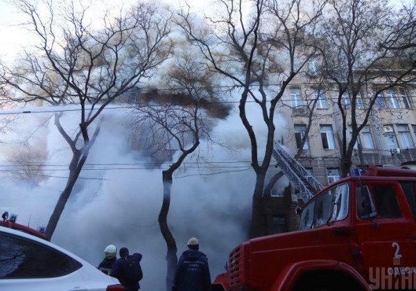 В полиции рассказали о первых подозреваемых по делу, начатому после смертельного пожара в Одессе - Пожар в Одессе
