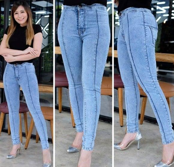 Модные джинсы 2020 с передним швом / Instagram