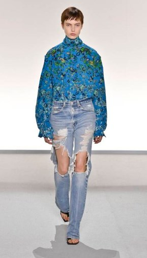 Модные джинсы 2020