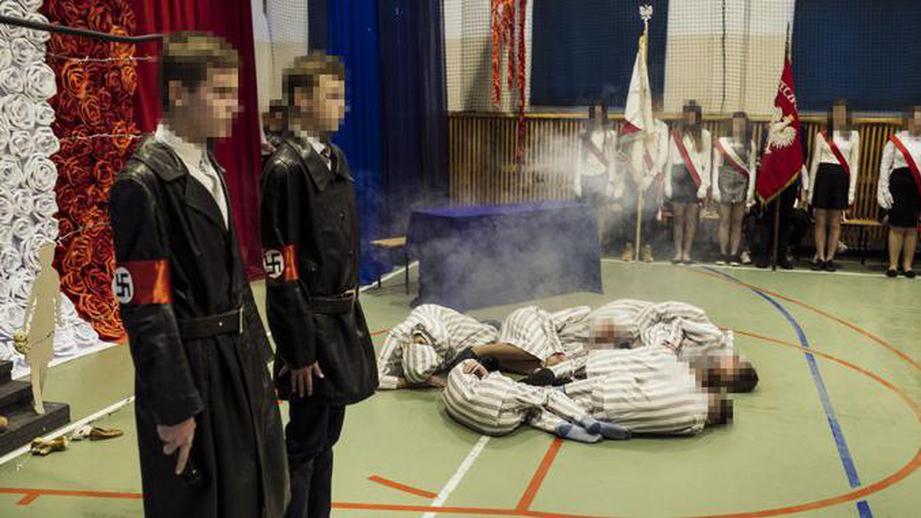 дети, школьники, СС, Гестапо, Польша