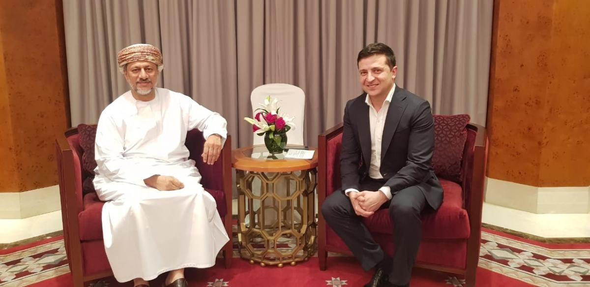 Владимир Зеленский в Омане