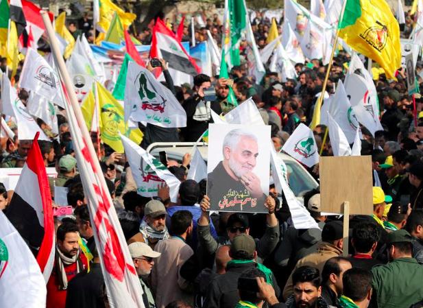 Ирак, Сулеймани, акция