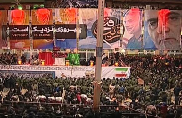 CNN сообщил, что Касем Сулеймани сегодня похоронен
