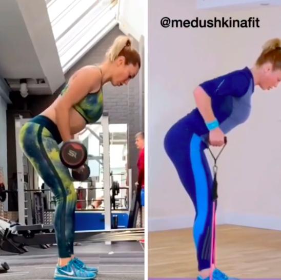 Упражнения для плечей и спины