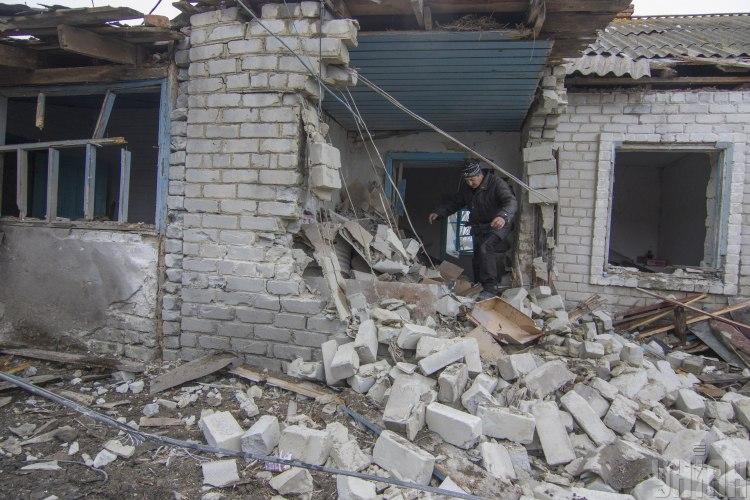 Дом, разрушения