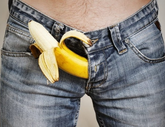 Пенис, банан