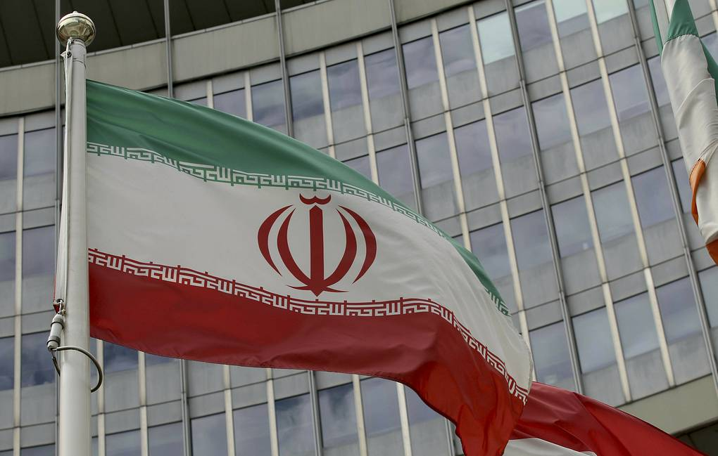 Флаг, Иран