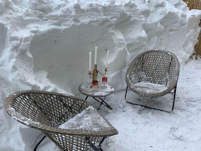 Канада утопает в снегу