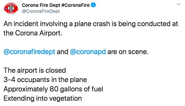 Упал и загорелся: в США - крушение легкомоторного самолета, все погибли