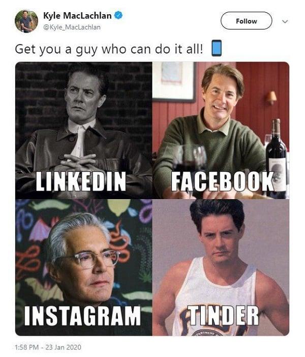 LinkedIn, Facebook, Instagram, Tinder - новый тренд захватил сеть
