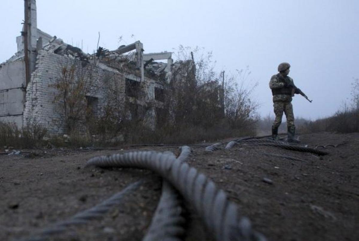Донбас,боєць
