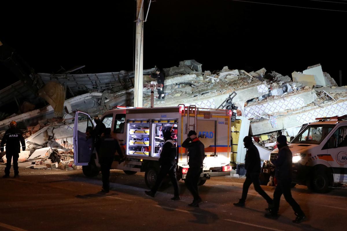 Количество жертв землетрясения в Турции возросло до 20