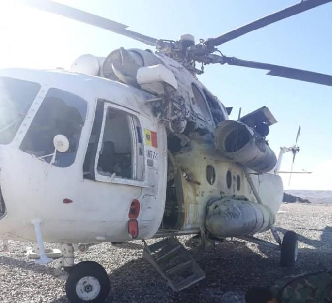 ЧП с вертолетом в Афганистане
