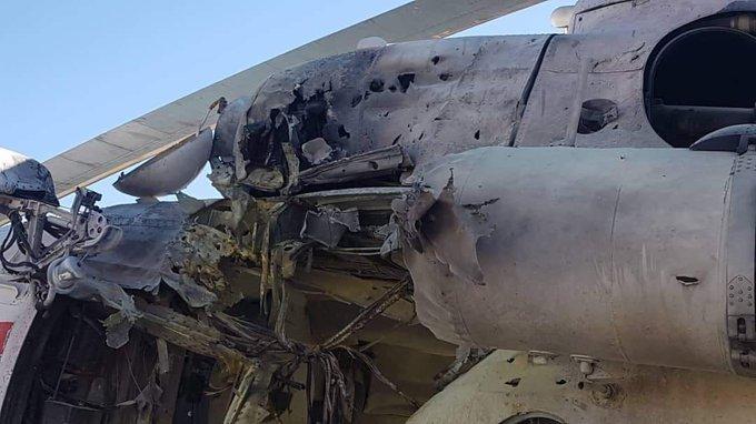 Обстрел вертолета с украинцами в Афганистане