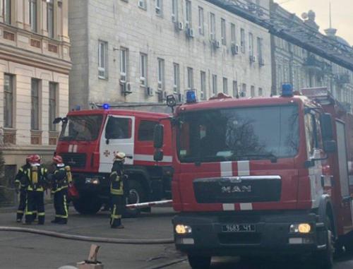 Эксперт считает, что пожар в Минкульте - знак Владимиру Бородянскому - Новости Киева