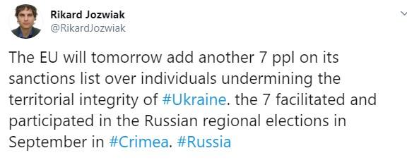 Евросоюз еще сильнее затянет санкционную петлю на шее России