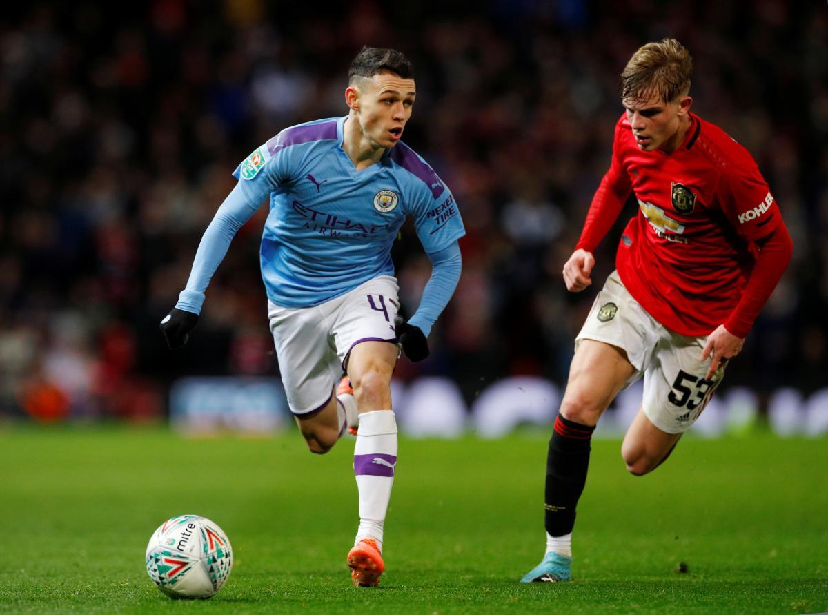 Манчестер Сити - Манчестер Юнайтед: где смотреть