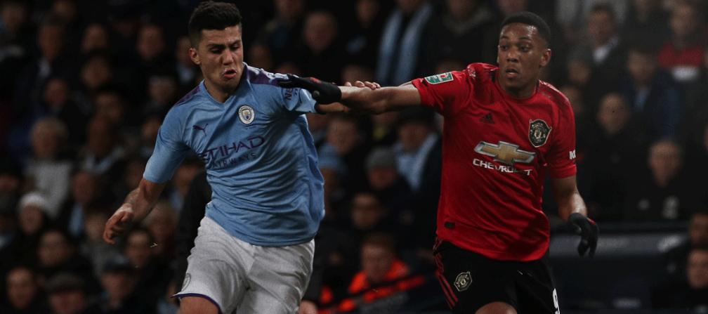 Манчестер Сити - Манчестер Юнайтед: видеообзор матча
