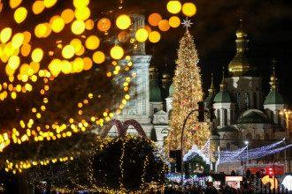 Киев,елка