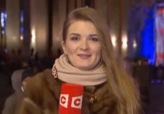 Елена Козлова отличилась странным поведением в эфире / Скриншот