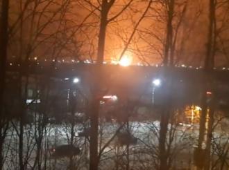 В России на НПЗ произошел мощный пожар - Новости мира