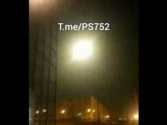 Момент поражения украинского самолета ракетой земля-воздух / Фото: скриншот из видео