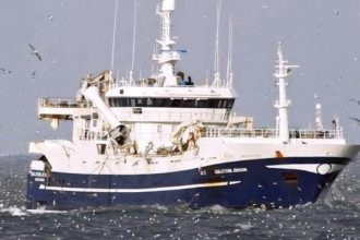 Траулер Энигма Астралис загорелся в Охотском море